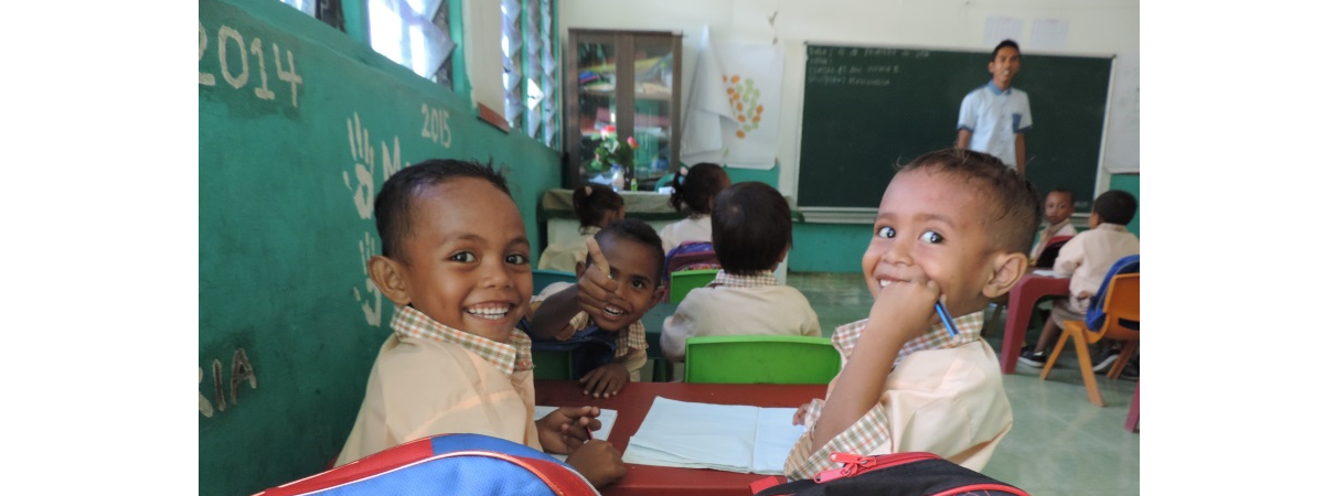 Timor Leste Children in Classroom